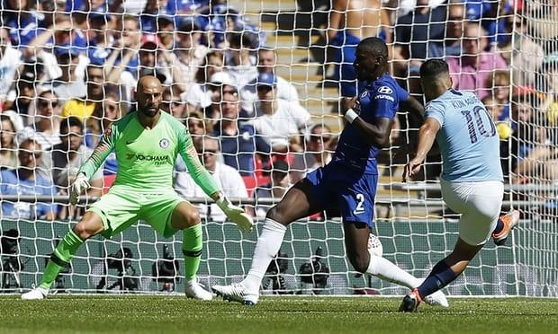 Aguero 'lên đồng', Man City hạ Chelsea vô địch siêu cúp Anh - ảnh 1