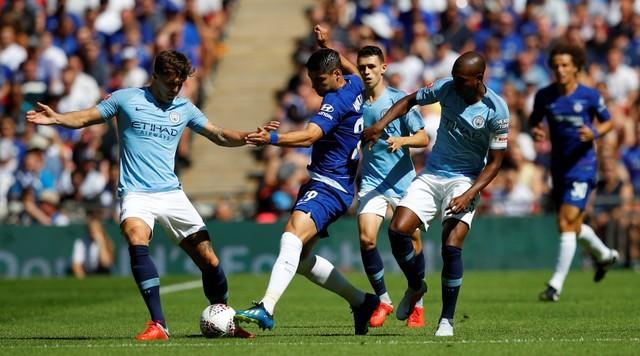 Aguero 'lên đồng', Man City hạ Chelsea vô địch siêu cúp Anh - ảnh 3