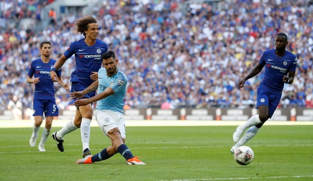 Aguero 'lên đồng', Man City hạ Chelsea vô địch siêu cúp Anh - ảnh 5