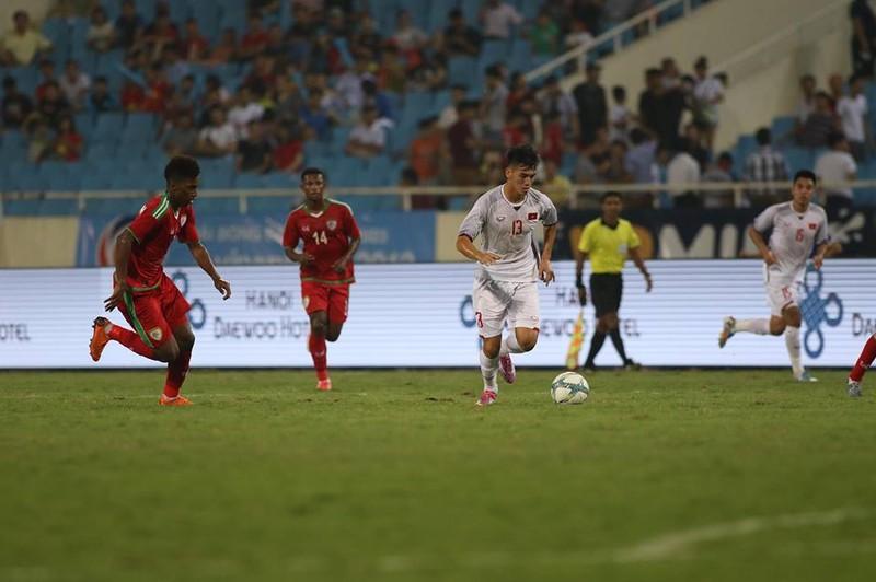 Văn Hậu lập siêu phẩm, U-23 Việt Nam thắng Oman phút 89 - ảnh 16