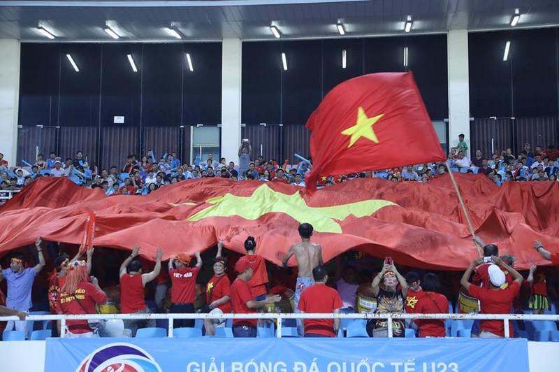Văn Hậu lập siêu phẩm, U-23 Việt Nam thắng Oman phút 89 - ảnh 22