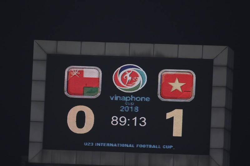 Văn Hậu lập siêu phẩm, U-23 Việt Nam thắng Oman phút 89 - ảnh 8