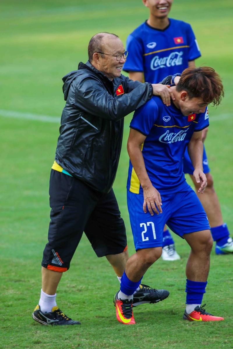 U-23 Việt Nam tập luyện hăng say chờ tái đấu U-23 Uzbekistan - ảnh 3