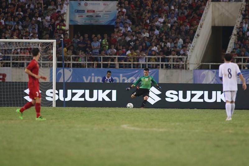 Hòa Uzbekistan, U-23 Việt Nam đăng quang trên sân Mỹ Đình - ảnh 9