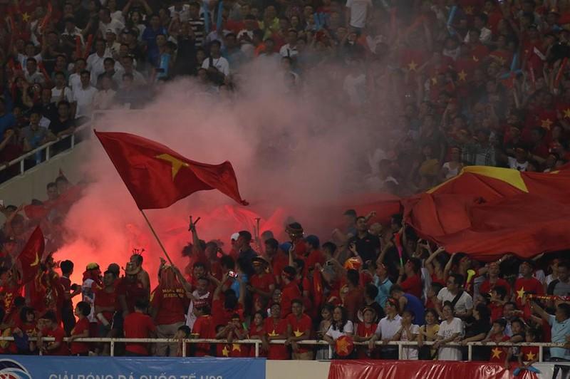 Hòa Uzbekistan, U-23 Việt Nam đăng quang trên sân Mỹ Đình - ảnh 3