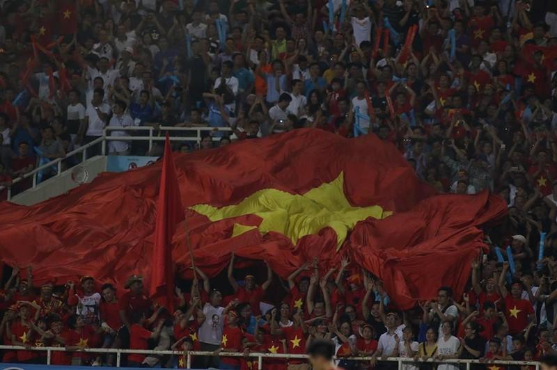 Hòa Uzbekistan, U-23 Việt Nam đăng quang trên sân Mỹ Đình - ảnh 4