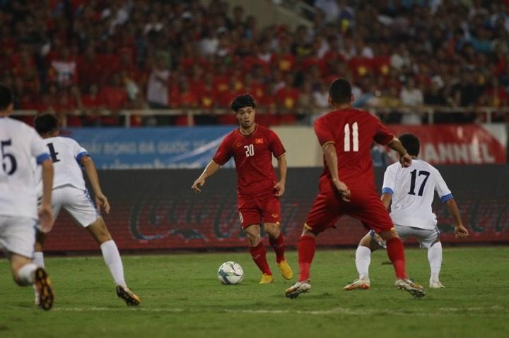 Hòa Uzbekistan, U-23 Việt Nam đăng quang trên sân Mỹ Đình - ảnh 13
