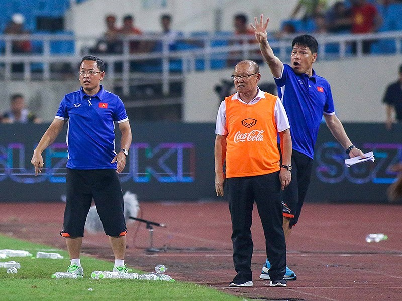 Hòa Uzbekistan, U-23 Việt Nam đăng quang trên sân Mỹ Đình - ảnh 29