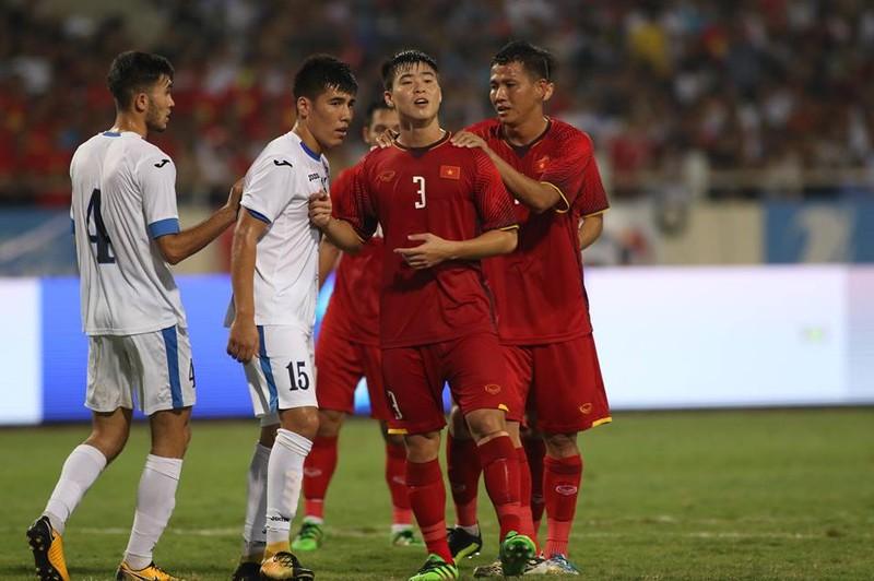 Hòa Uzbekistan, U-23 Việt Nam đăng quang trên sân Mỹ Đình - ảnh 12