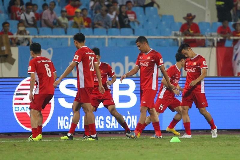 Hòa Uzbekistan, U-23 Việt Nam đăng quang trên sân Mỹ Đình - ảnh 19