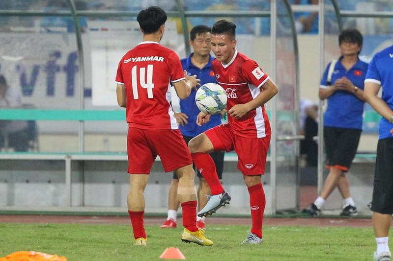 Hòa Uzbekistan, U-23 Việt Nam đăng quang trên sân Mỹ Đình - ảnh 21