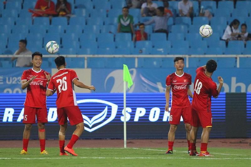 Hòa Uzbekistan, U-23 Việt Nam đăng quang trên sân Mỹ Đình - ảnh 22