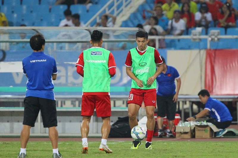 Hòa Uzbekistan, U-23 Việt Nam đăng quang trên sân Mỹ Đình - ảnh 23