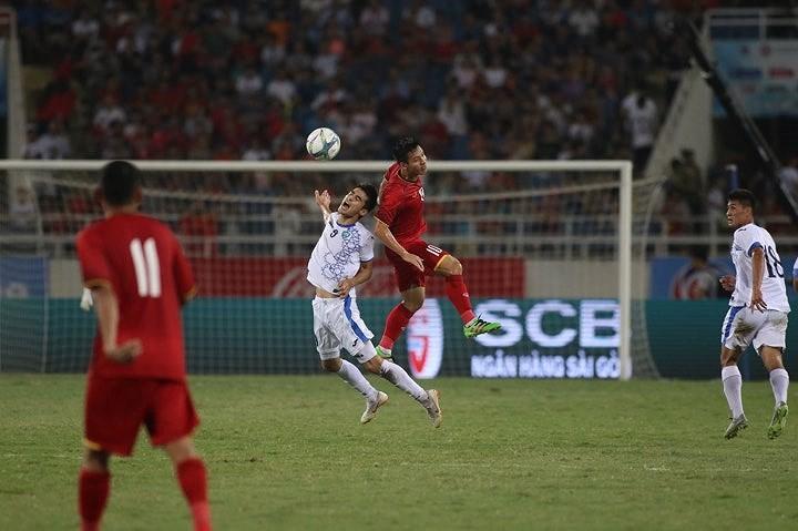 Hòa Uzbekistan, U-23 Việt Nam đăng quang trên sân Mỹ Đình - ảnh 11