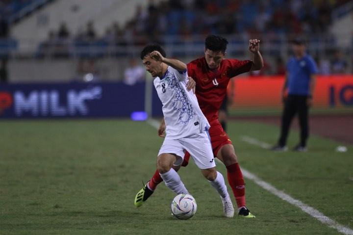 Hòa Uzbekistan, U-23 Việt Nam đăng quang trên sân Mỹ Đình - ảnh 17