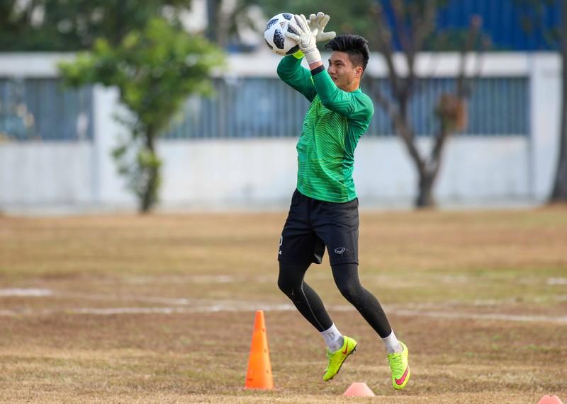 Buổi tập 'hoàn hảo' đầu tiên của Olympic Việt Nam - ảnh 11