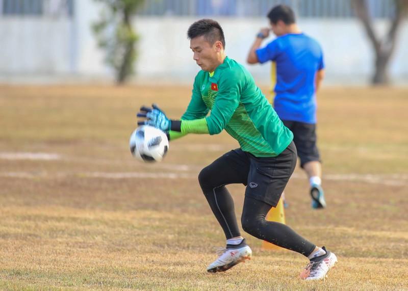 Buổi tập 'hoàn hảo' đầu tiên của Olympic Việt Nam - ảnh 12