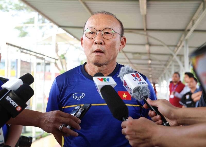 Buổi tập 'hoàn hảo' đầu tiên của Olympic Việt Nam - ảnh 2