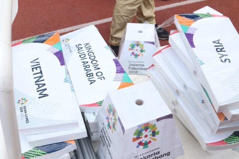 Nóng: Hình ảnh Olympic Việt Nam trên SVĐ Wibawa Mukti - ảnh 2