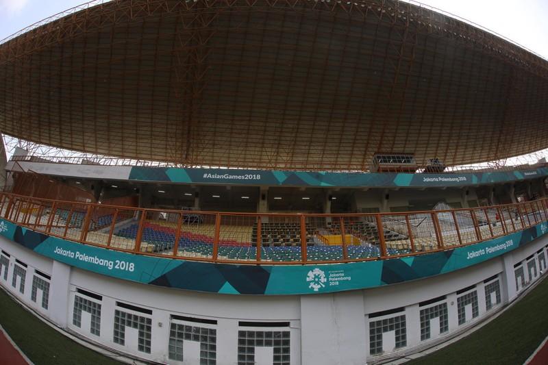 Nóng: Hình ảnh Olympic Việt Nam trên SVĐ Wibawa Mukti - ảnh 5