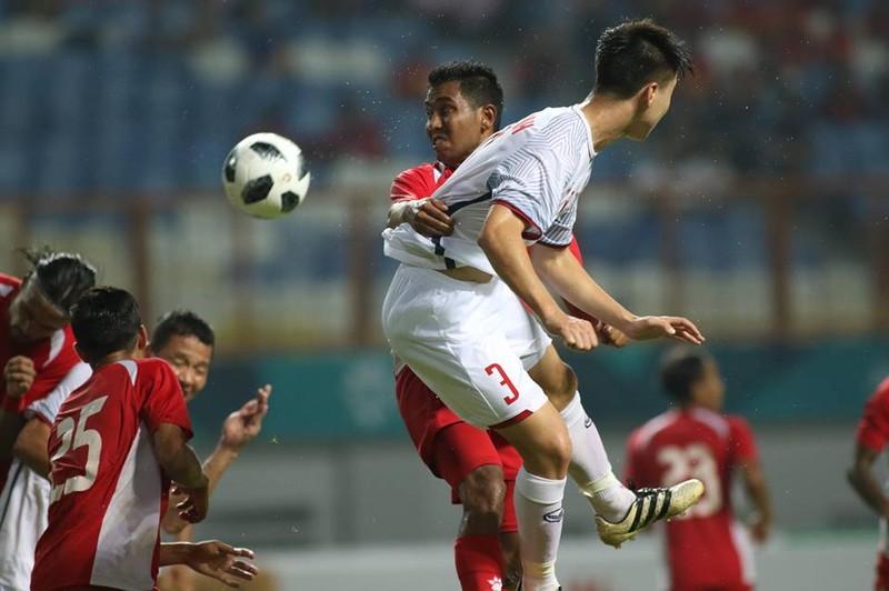 Olympic Việt Nam chính thức vào vòng knock-out Asiad 18 - ảnh 1