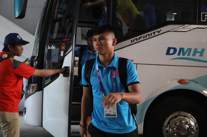Olympic Việt Nam chính thức vào vòng knock-out Asiad 18 - ảnh 59