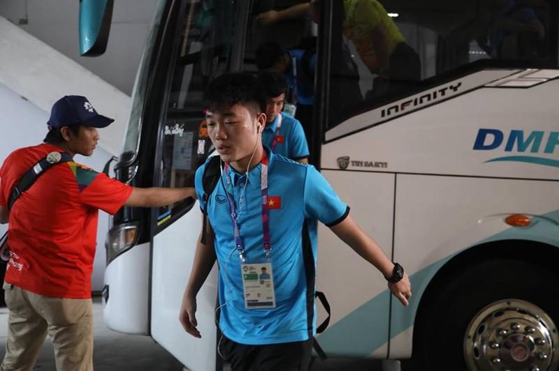 Olympic Việt Nam chính thức vào vòng knock-out Asiad 18 - ảnh 60