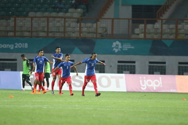 Olympic Việt Nam chính thức vào vòng knock-out Asiad 18 - ảnh 31