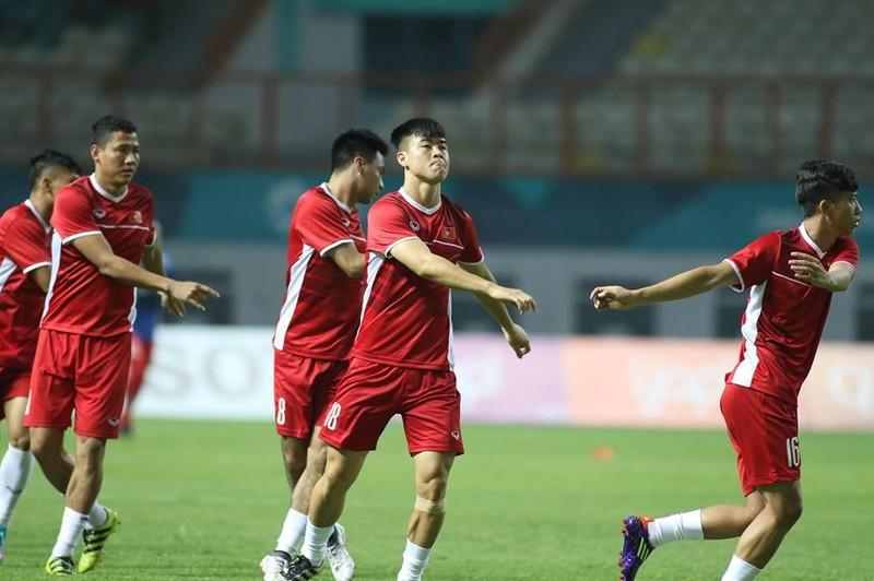 Olympic Việt Nam chính thức vào vòng knock-out Asiad 18 - ảnh 33