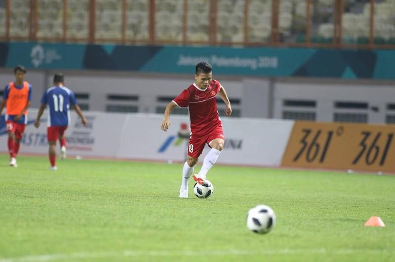 Olympic Việt Nam chính thức vào vòng knock-out Asiad 18 - ảnh 44