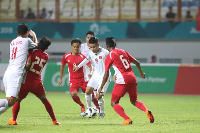 Olympic Việt Nam chính thức vào vòng knock-out Asiad 18 - ảnh 21
