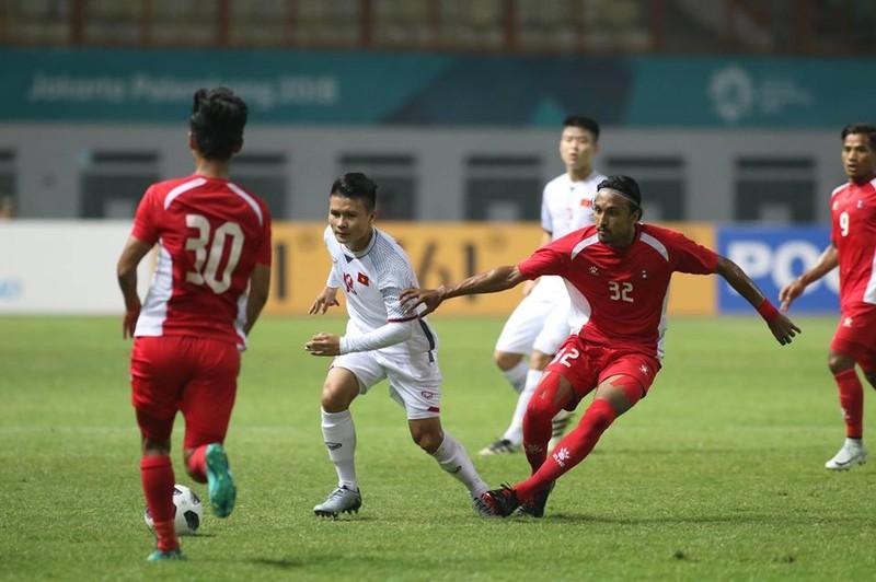 Olympic Việt Nam chính thức vào vòng knock-out Asiad 18 - ảnh 22
