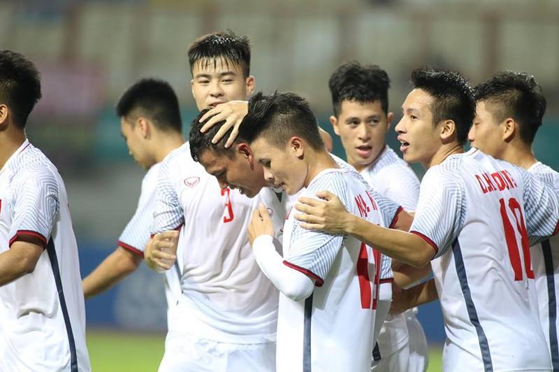 Olympic Việt Nam chính thức vào vòng knock-out Asiad 18 - ảnh 16