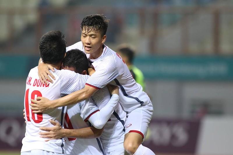 Olympic Việt Nam chính thức vào vòng knock-out Asiad 18 - ảnh 18