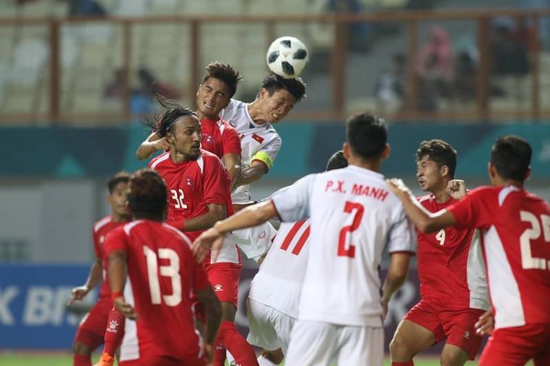 Olympic Việt Nam chính thức vào vòng knock-out Asiad 18 - ảnh 15