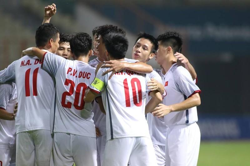 Olympic Việt Nam chính thức vào vòng knock-out Asiad 18 - ảnh 5