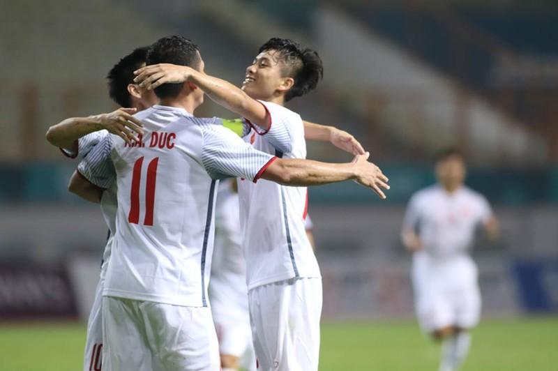 Olympic Việt Nam chính thức vào vòng knock-out Asiad 18 - ảnh 8