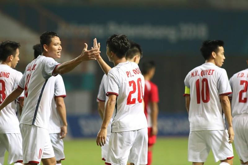 Olympic Việt Nam chính thức vào vòng knock-out Asiad 18 - ảnh 9