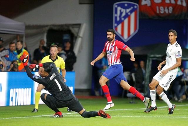 Costa rực sáng, Atletico trả hận Real vô địch siêu cúp châu Âu - ảnh 1