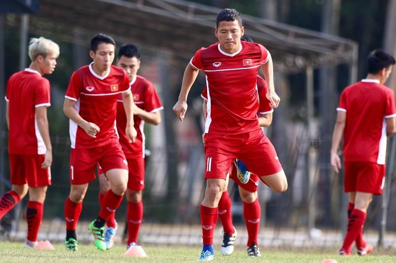 Olympic Việt Nam bí mật luyện penalty 'đấu' Nhật Bản - ảnh 7
