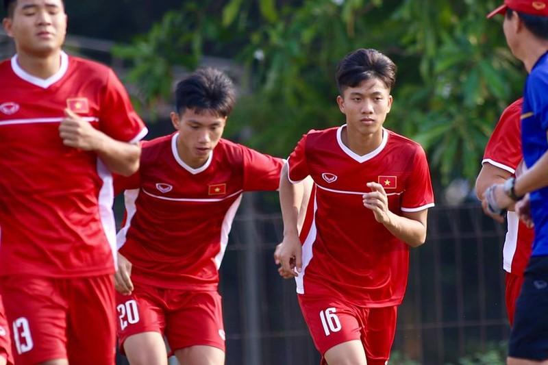 Olympic Việt Nam bí mật luyện penalty 'đấu' Nhật Bản - ảnh 8