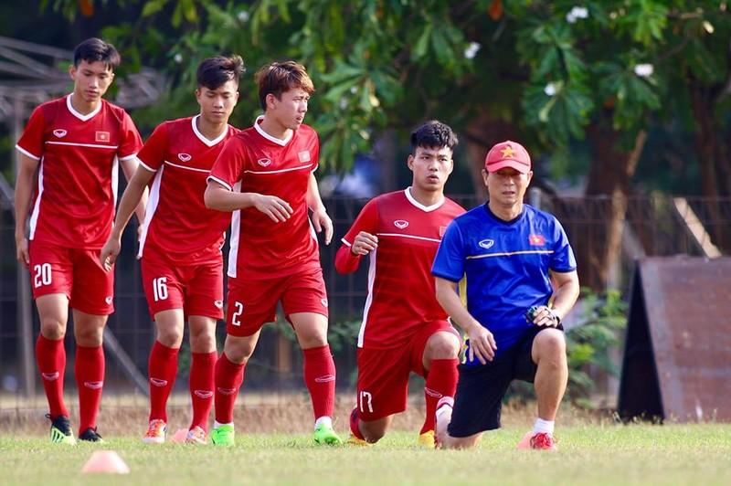 Olympic Việt Nam bí mật luyện penalty 'đấu' Nhật Bản - ảnh 9