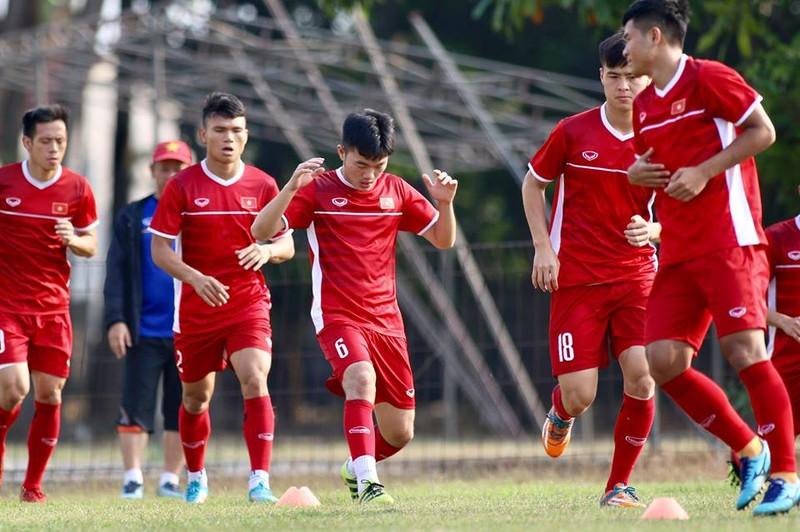 Olympic Việt Nam bí mật luyện penalty 'đấu' Nhật Bản - ảnh 10
