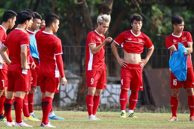 Olympic Việt Nam bí mật luyện penalty 'đấu' Nhật Bản - ảnh 14