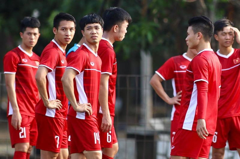 Olympic Việt Nam bí mật luyện penalty 'đấu' Nhật Bản - ảnh 16