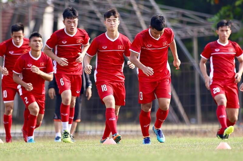 Olympic Việt Nam bí mật luyện penalty 'đấu' Nhật Bản - ảnh 17
