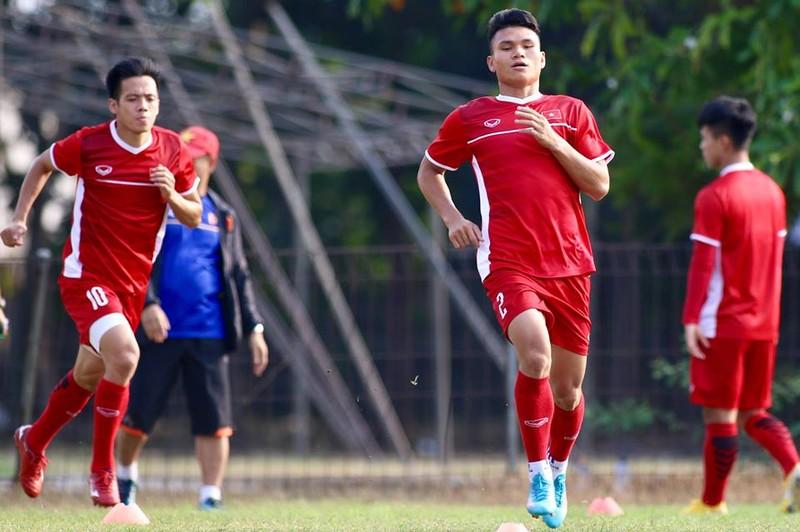 Olympic Việt Nam bí mật luyện penalty 'đấu' Nhật Bản - ảnh 18