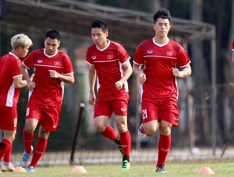 Olympic Việt Nam bí mật luyện penalty 'đấu' Nhật Bản - ảnh 19