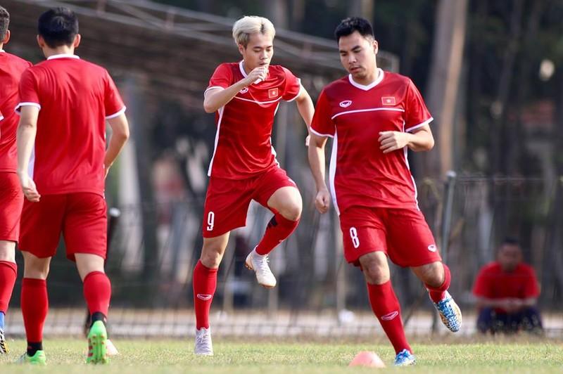 Olympic Việt Nam bí mật luyện penalty 'đấu' Nhật Bản - ảnh 20