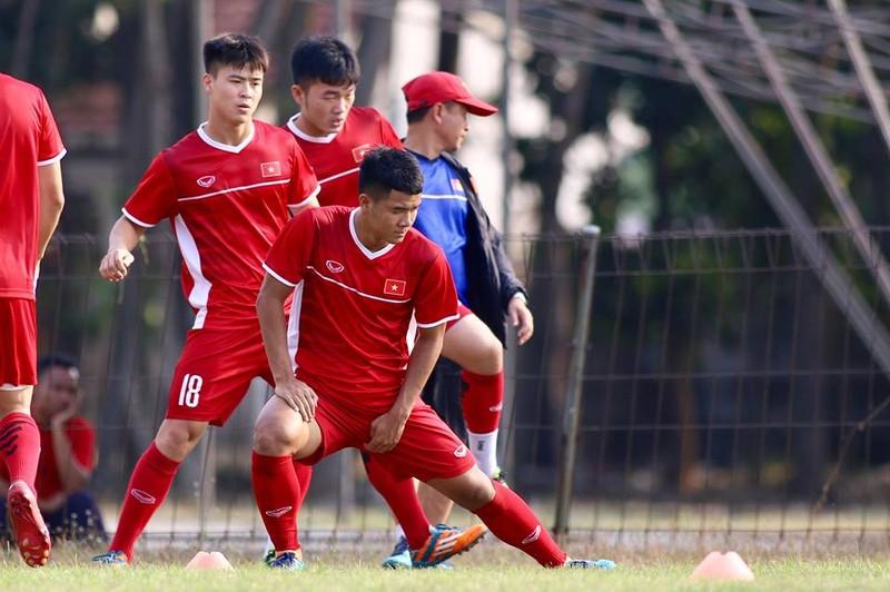 Olympic Việt Nam bí mật luyện penalty 'đấu' Nhật Bản - ảnh 21